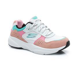 Skechers Meridian-Charted Kadın Beyaz-Pembe-Mavi Spor Ayakkabı