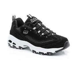 Skechers D'Lites Kadın Siyah-Beyaz Spor Ayakkabı