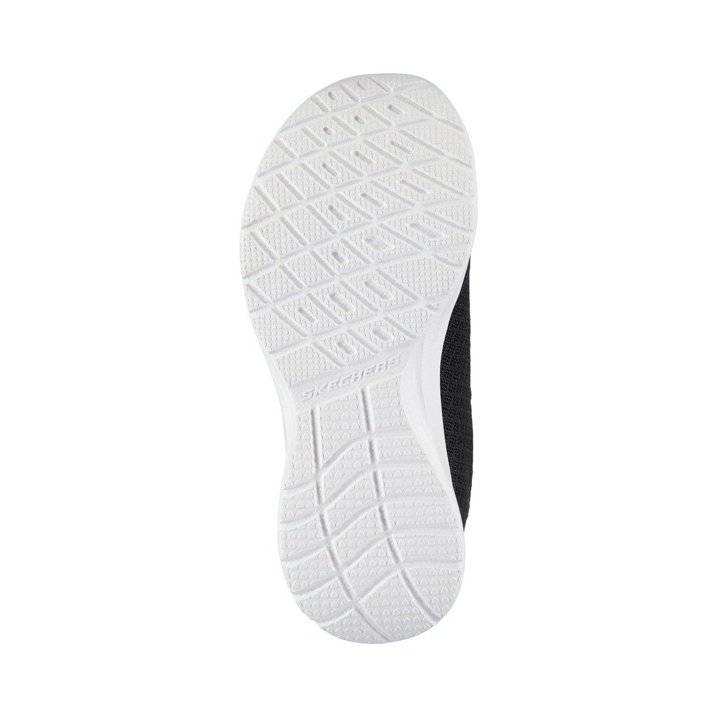 Skechers Dynamight Kız Çocuk Siyah-Beyaz Spor Ayakkabı