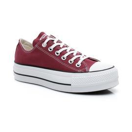 Converse Chuck Taylor All Star Seasonal Color High Lift Kadın Bordo Sneaker
