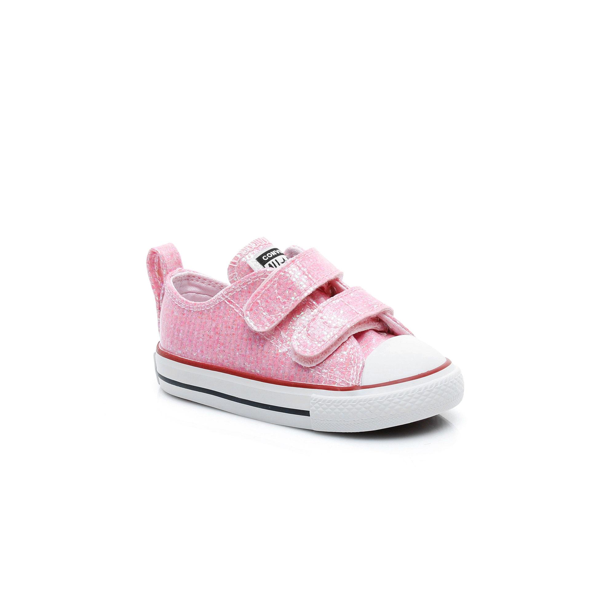 Converse Chuck Taylor All Star 2V Sparkle Çocuk Pembe Sneaker