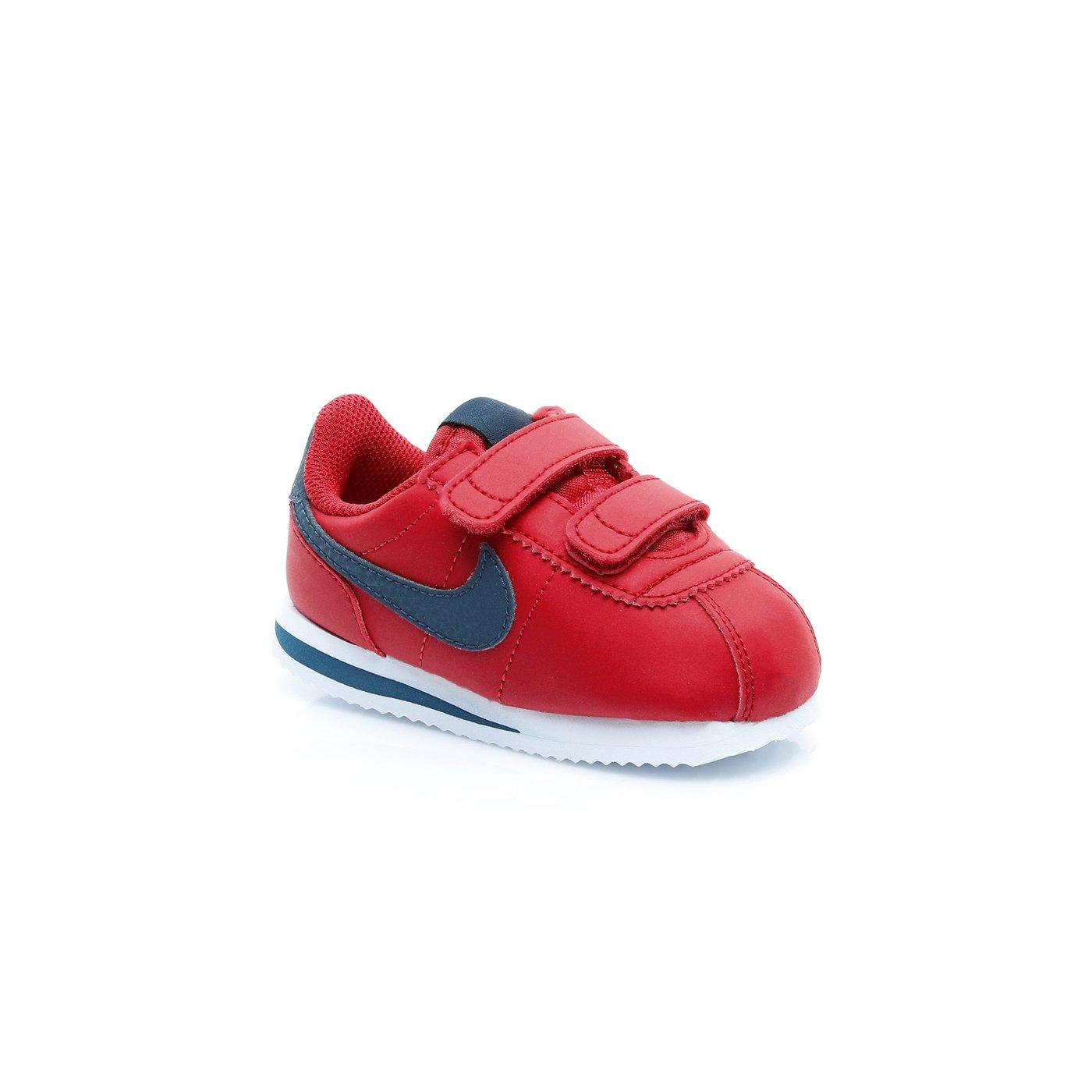 Nike Cortez Basic Sl Çocuk Kırmızı Spor Ayakkabı