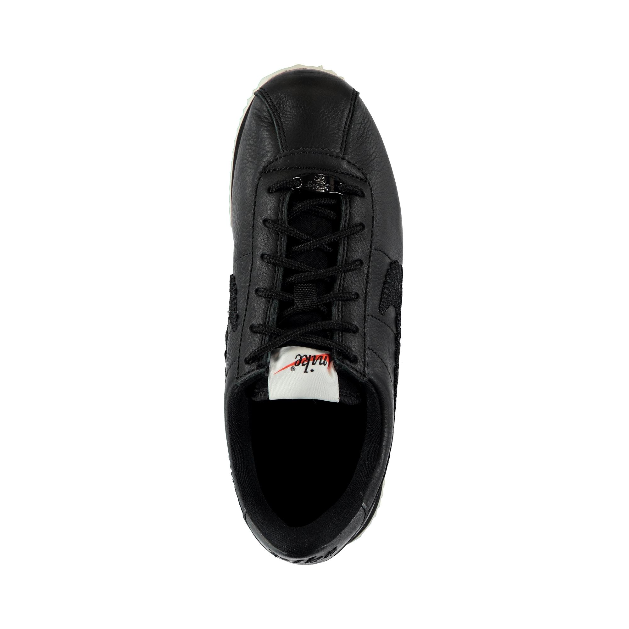 Nike Cortez Basic Prm Emb Kadın Siyah Spor Ayakkabı