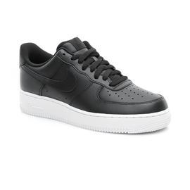 Nike Air Force 1 '07 Erkek Siyah Spor Ayakkabı