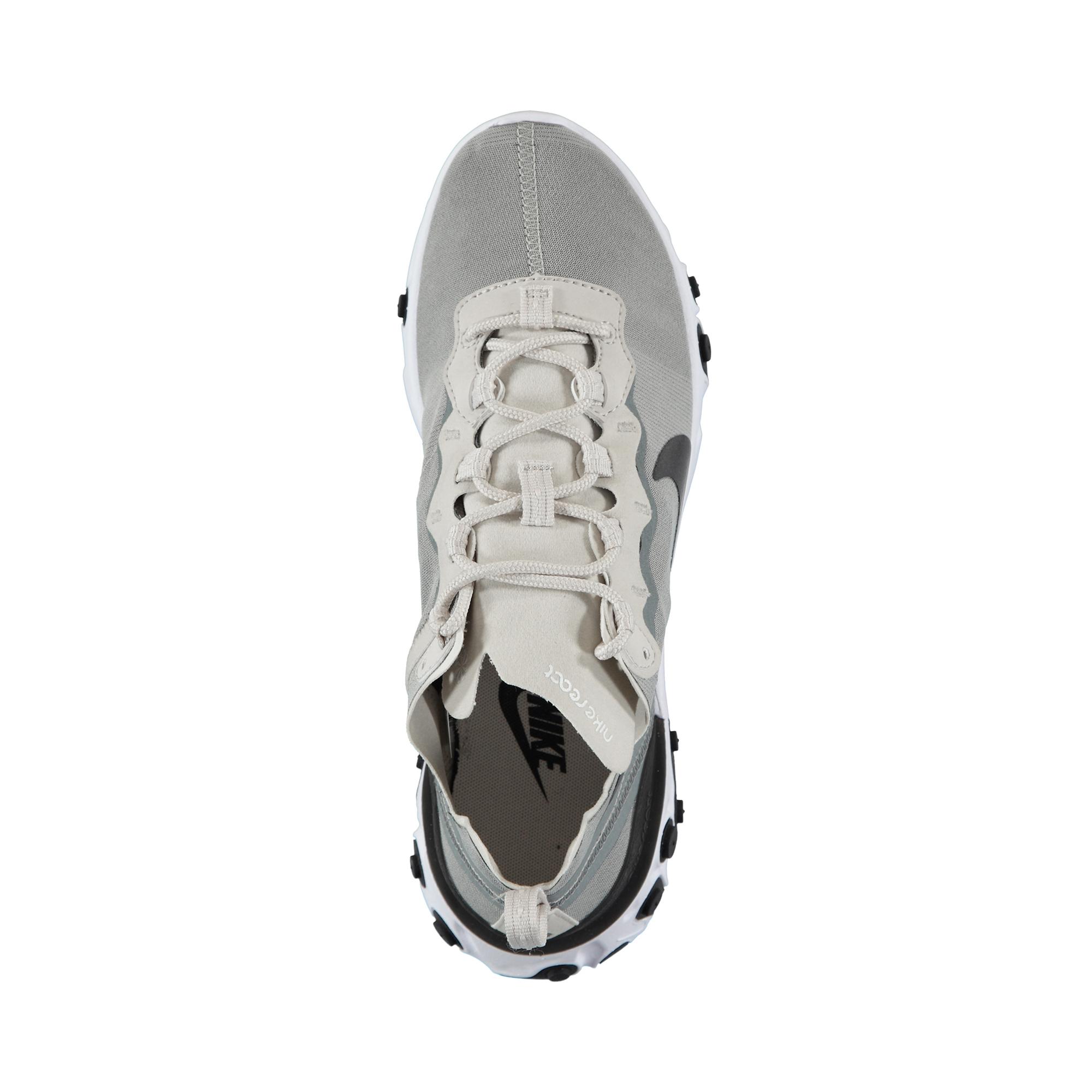 Nike React Element 55 Erkek Gri Spor Ayakkabı