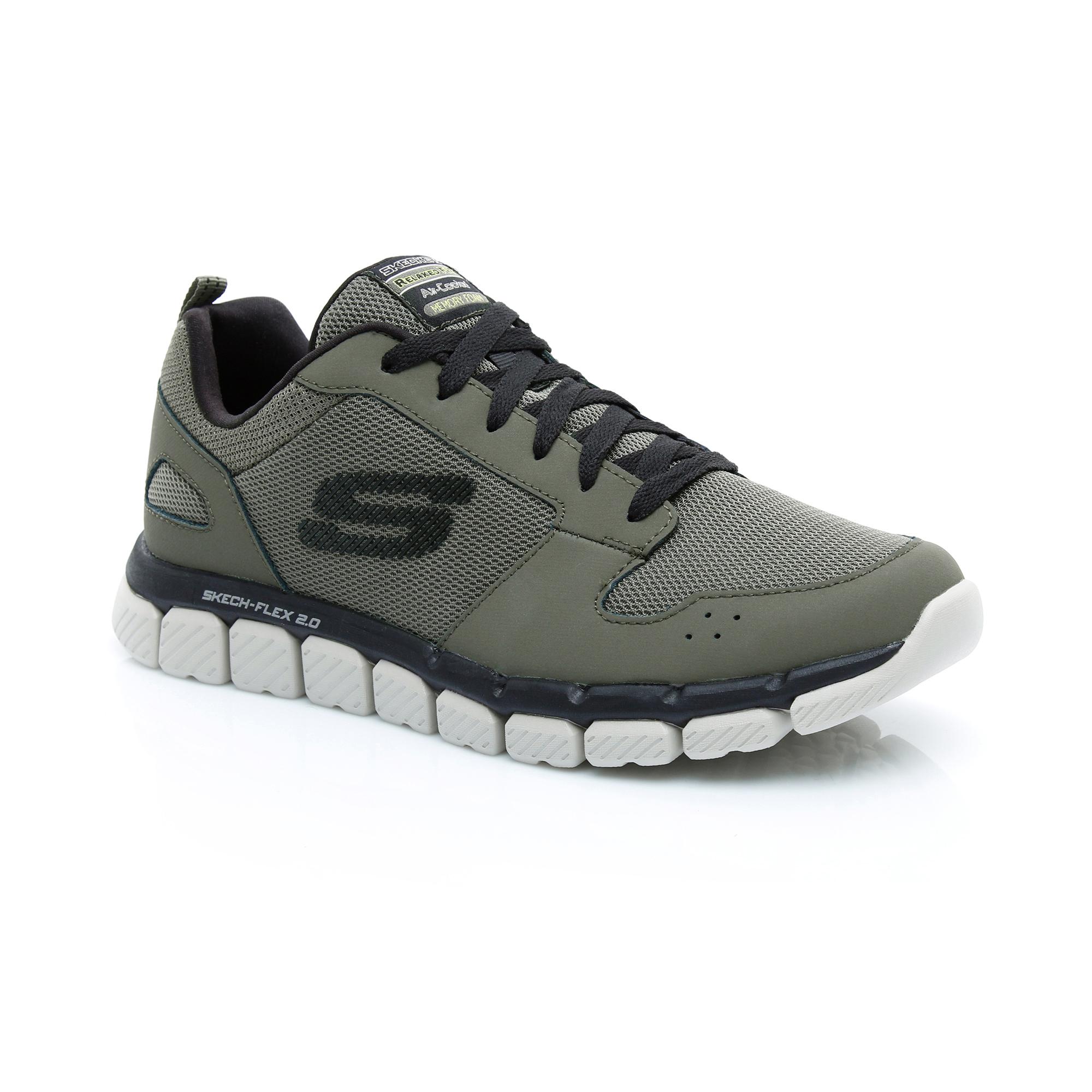 Skechers Skech - Flex 2.0 Erkek Haki Spor Ayakkabı
