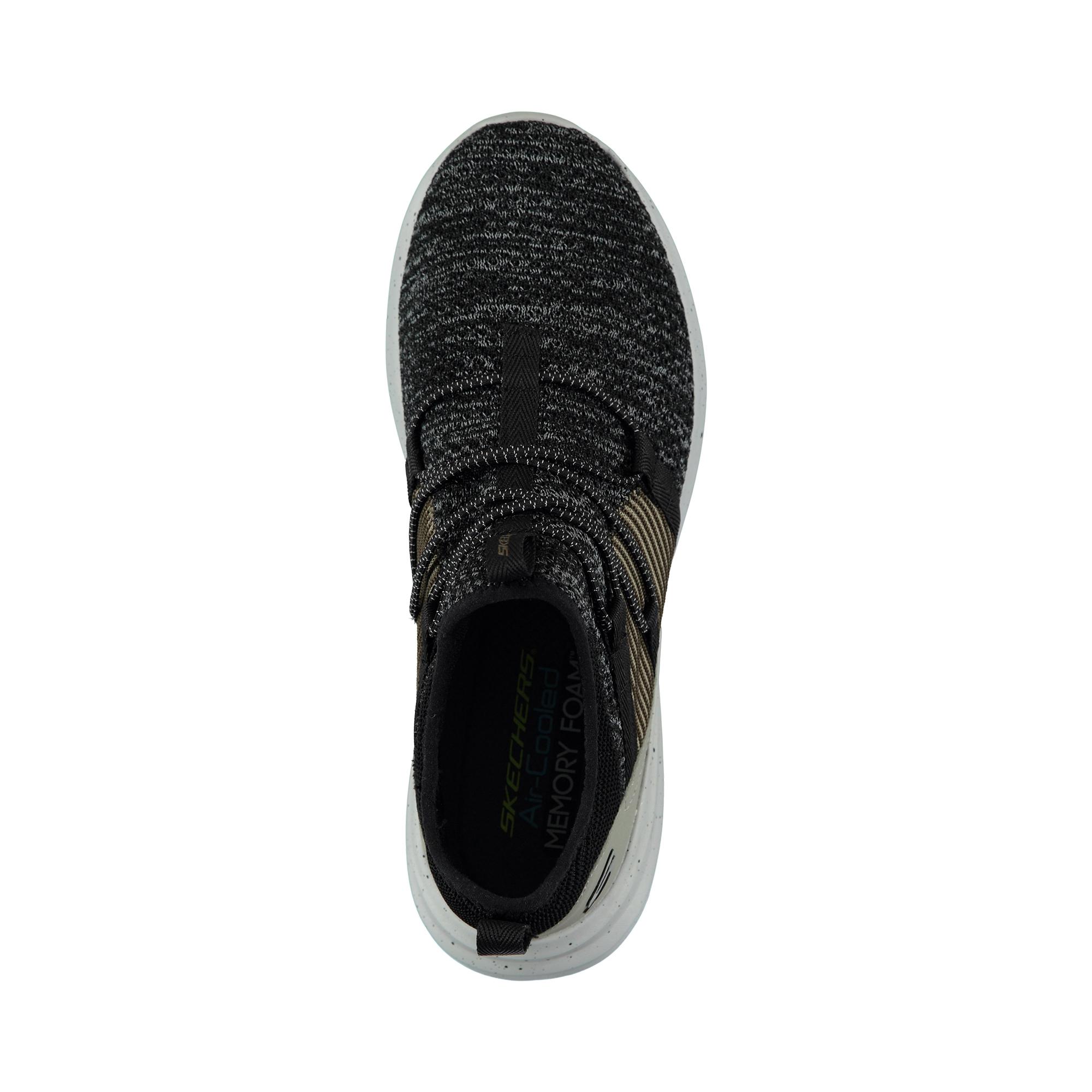 Skechers Skechex - Corace Erkek Siyah Spor Ayakkabı