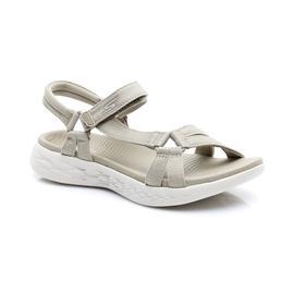 Skechers On-The-Go 600 - Brilliancy Kadın Bej Sandalet