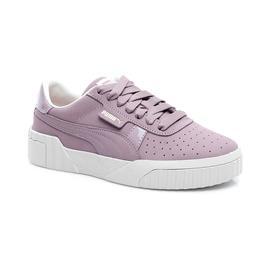 Puma Cali Nubuck Kadın Mor Spor Ayakkabı