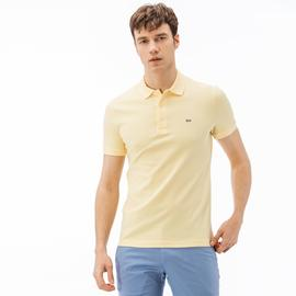 Lacoste Erkek Slim Fit Sarı Polo