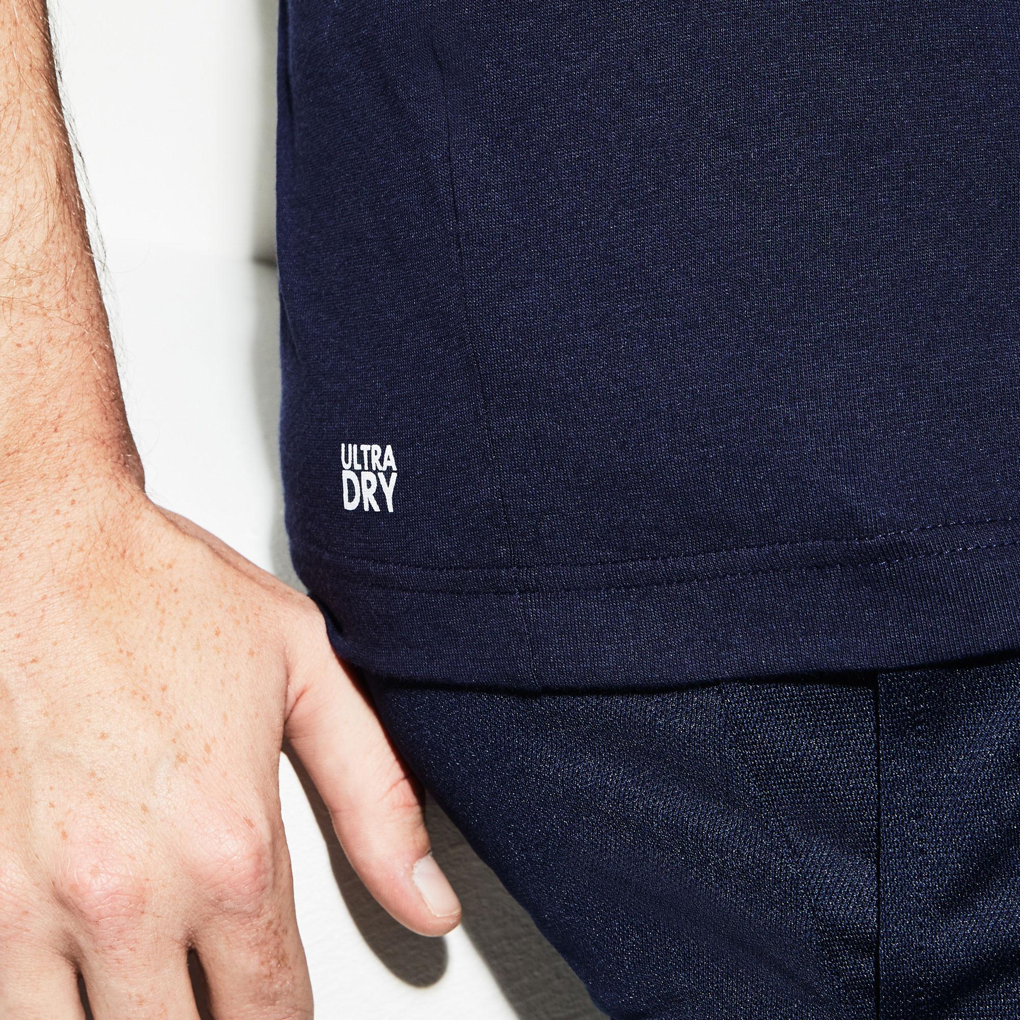 Lacoste Sport Erkek Lacivert T-Shirt