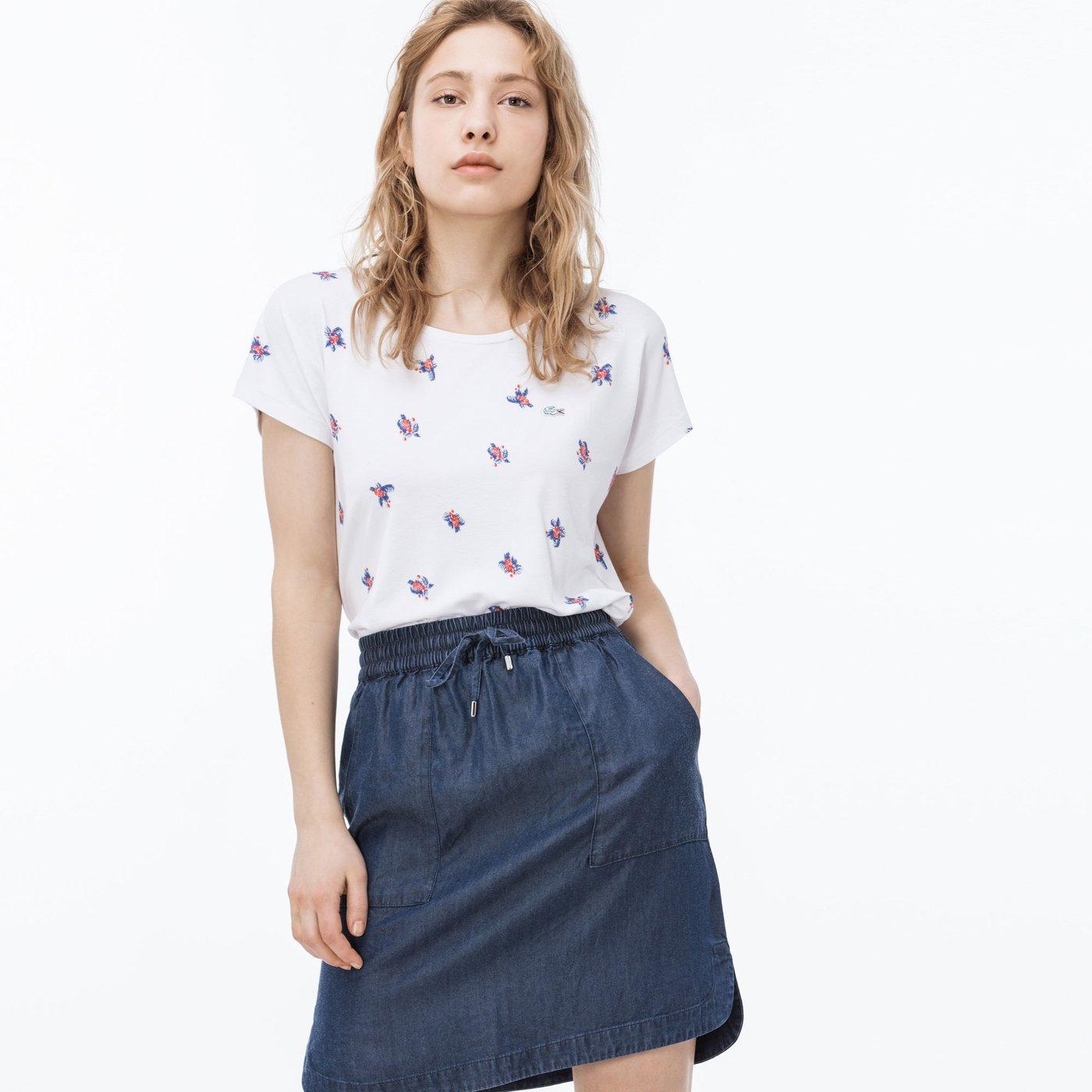 Lacoste Kadın Renkli T-Shirt