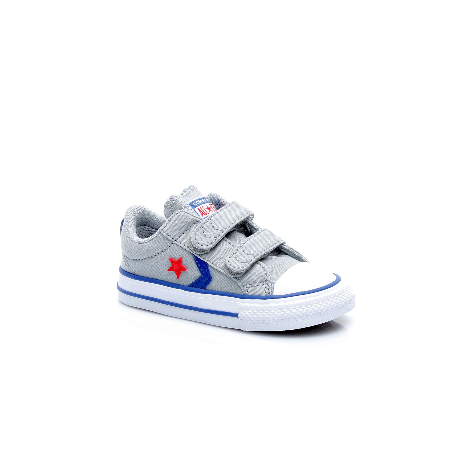 Converse Star Player 2V Çocuk Gri Sneaker