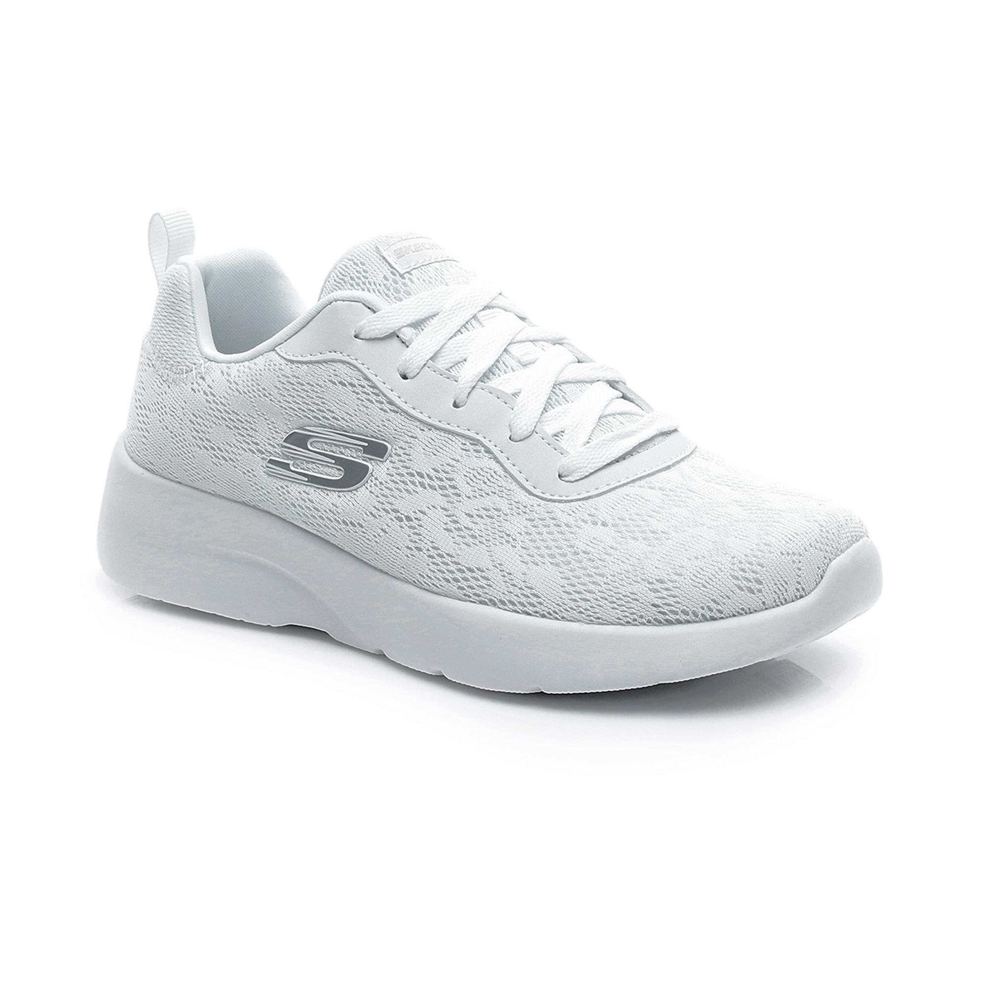 Skechers Dynamight 2.0-Homespun Kadın Beyaz Spor Ayakkabı