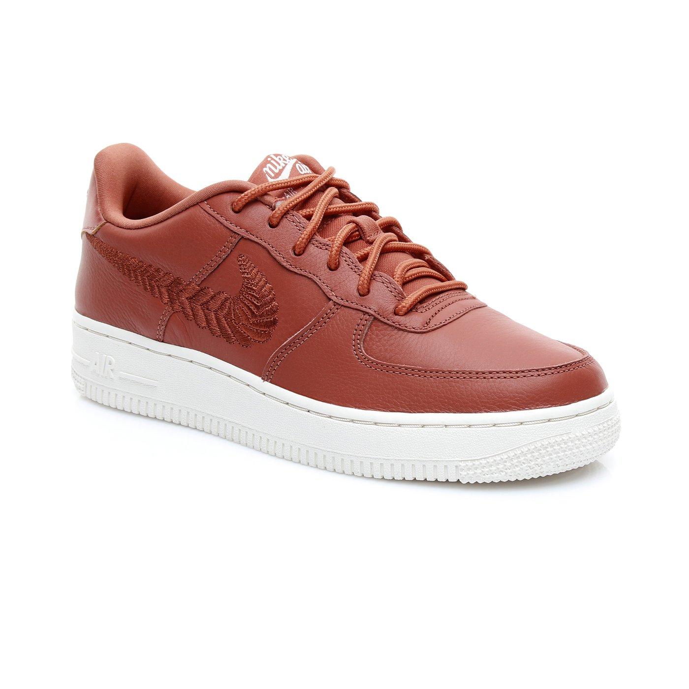 Nike Air Force 1 Kadın Kahverengi Spor Ayakkabı