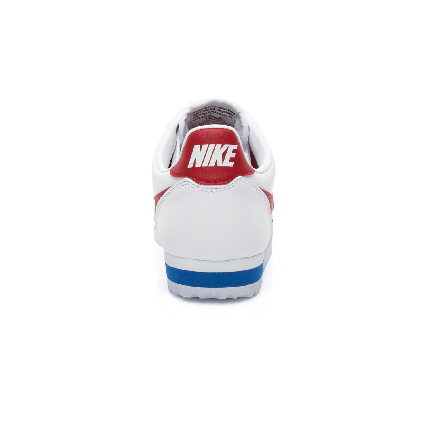 Nike Classic Cortez Leather Kadın Beyaz Spor Ayakkabı