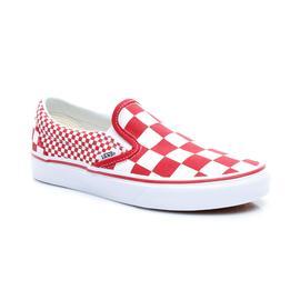 Vans UA Classic Slip-On Unisex Kırmızı Sneaker