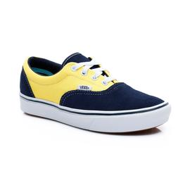 Vans UA ComfyCush Era Unisex Lacivert-Sarı Sneaker