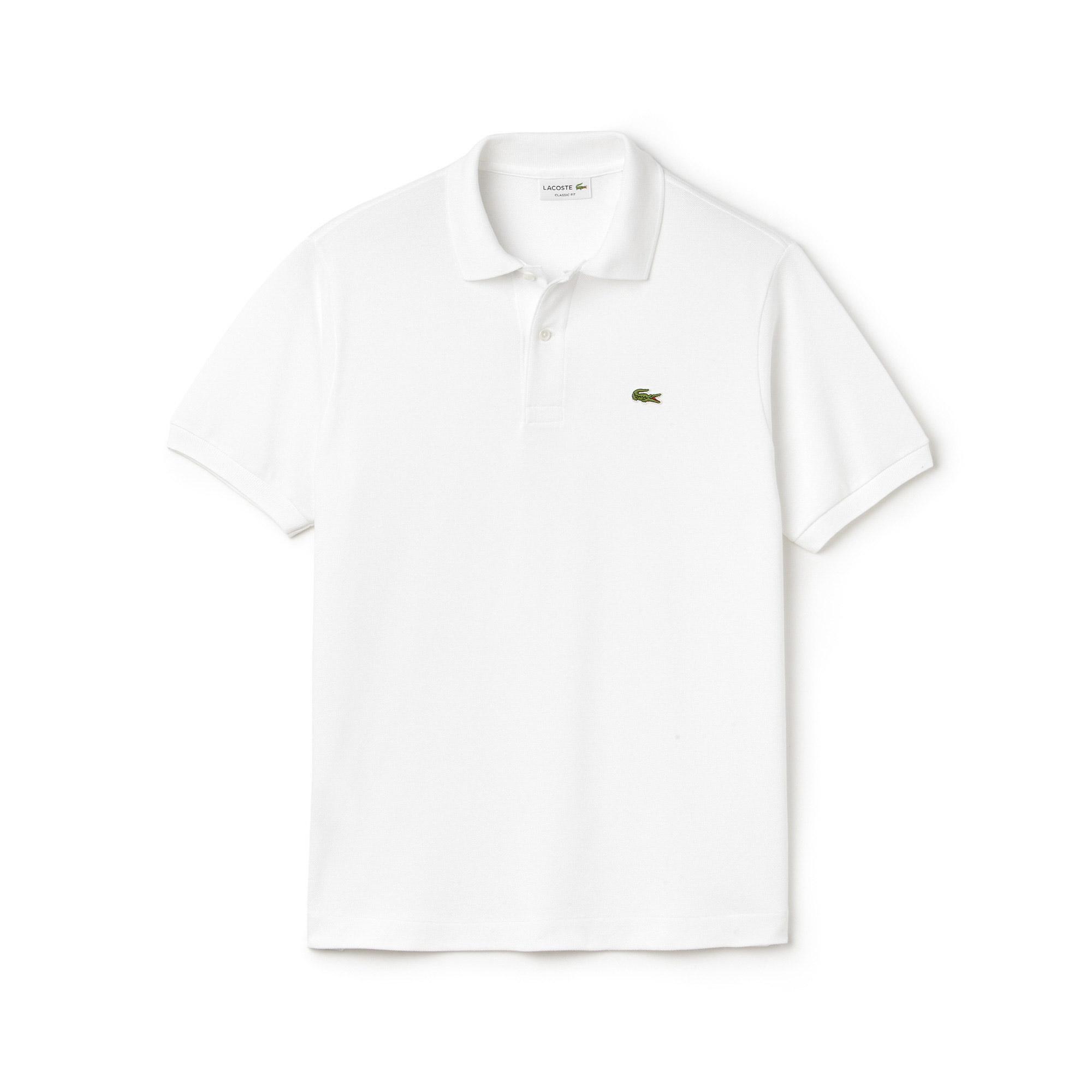Lacoste L1212 Erkek Beyaz Polo