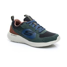 Skechers Bounder- Courthall Erkek Zeytin Yeşili-Siyah Spor Ayakkabı