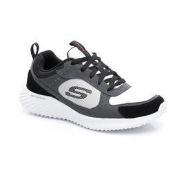 Skechers Bounder- Courthall Erkek Gri-Siyah Spor Ayakkabı