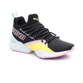 Puma Muse Maia Tz Kadın Siyah Spor Ayakkabı