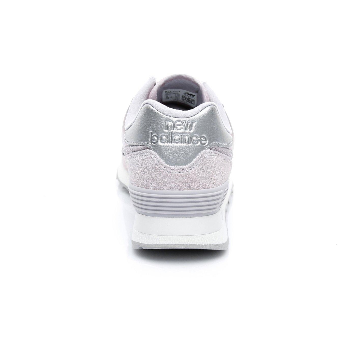 New Balance 574 Kadın Gri Spor Ayakkabı