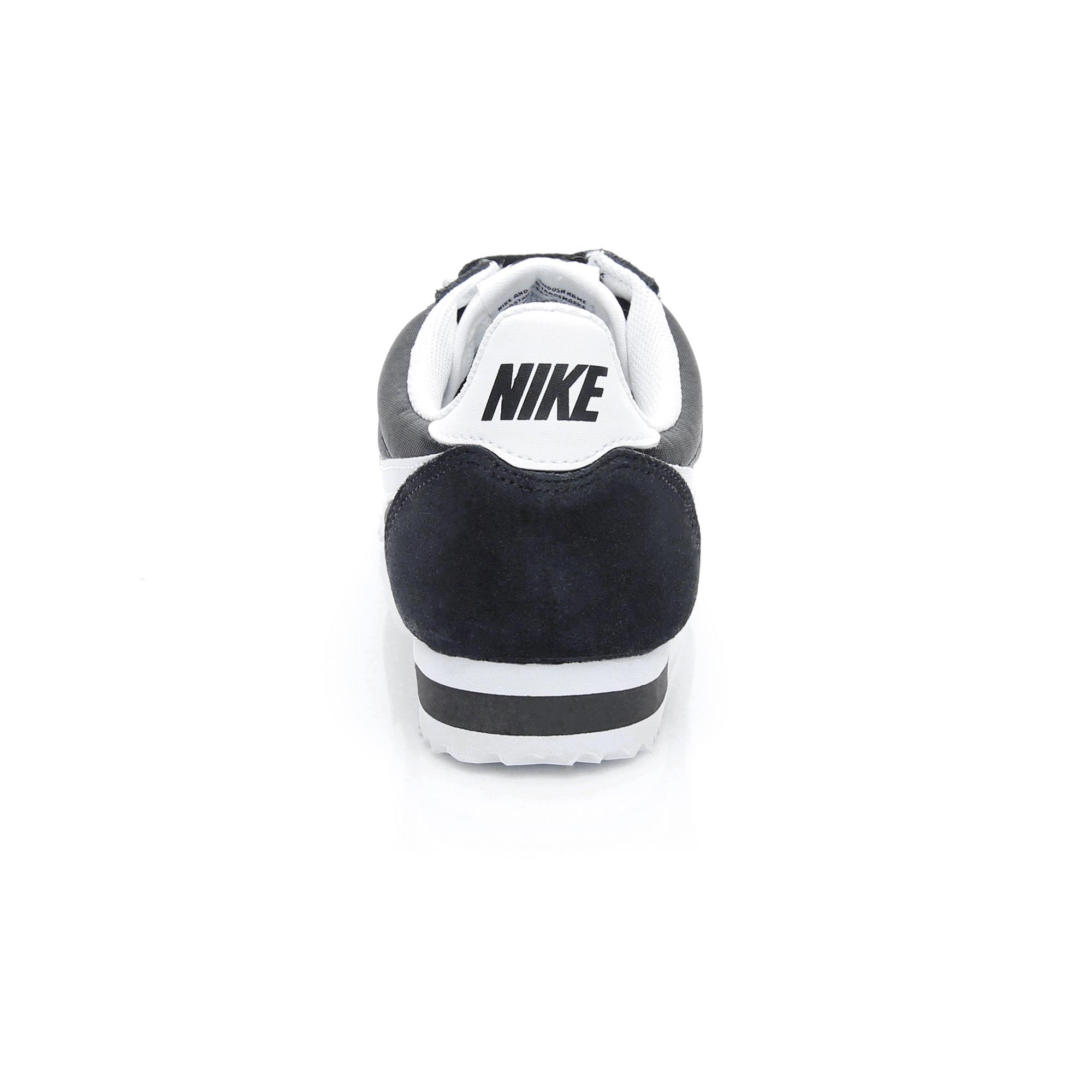 Nike Classic Cortez Nylon Kadın Siyah Spor Ayakkabı