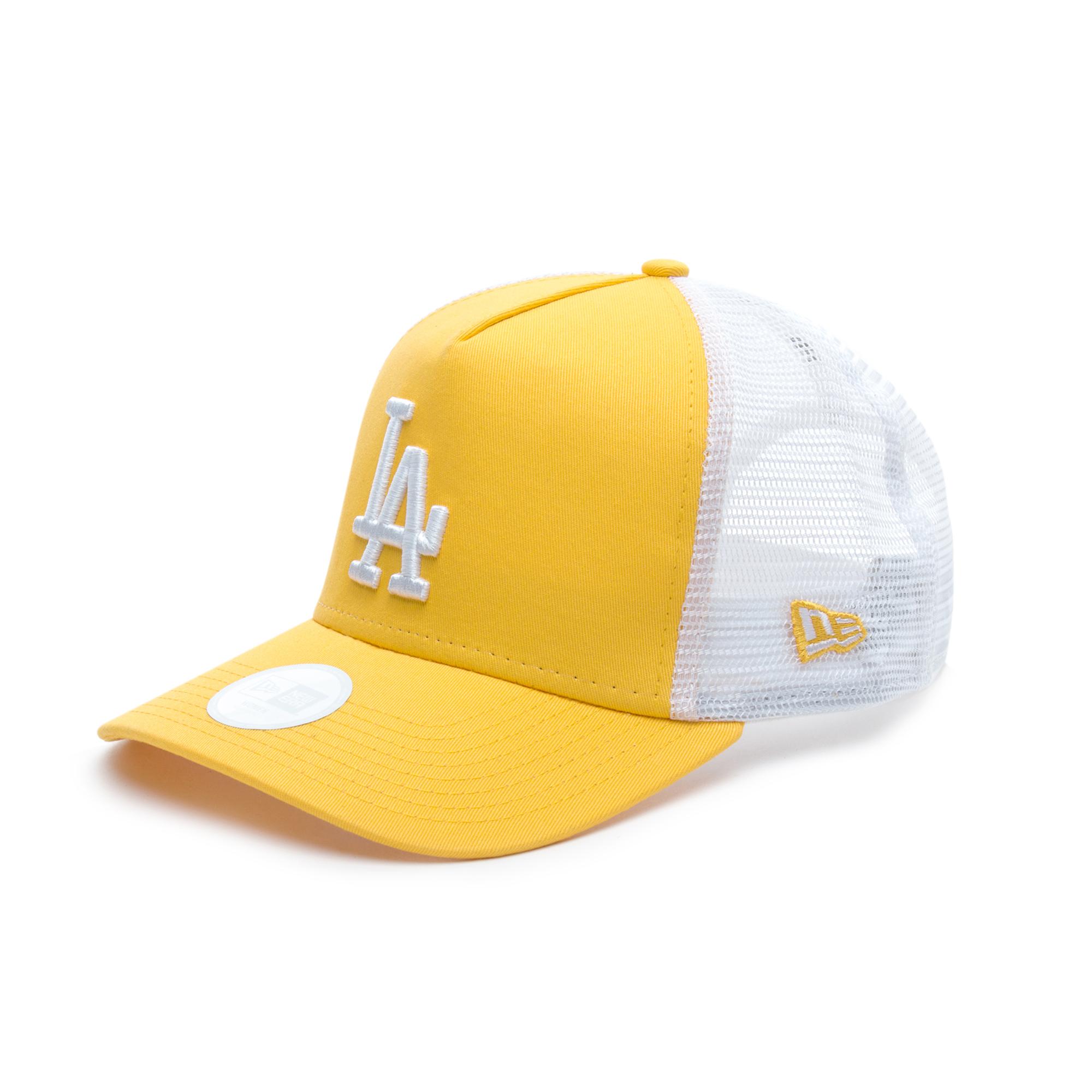New Era Los Angeles Dodgers League Essential Sarı Unisex Şapka