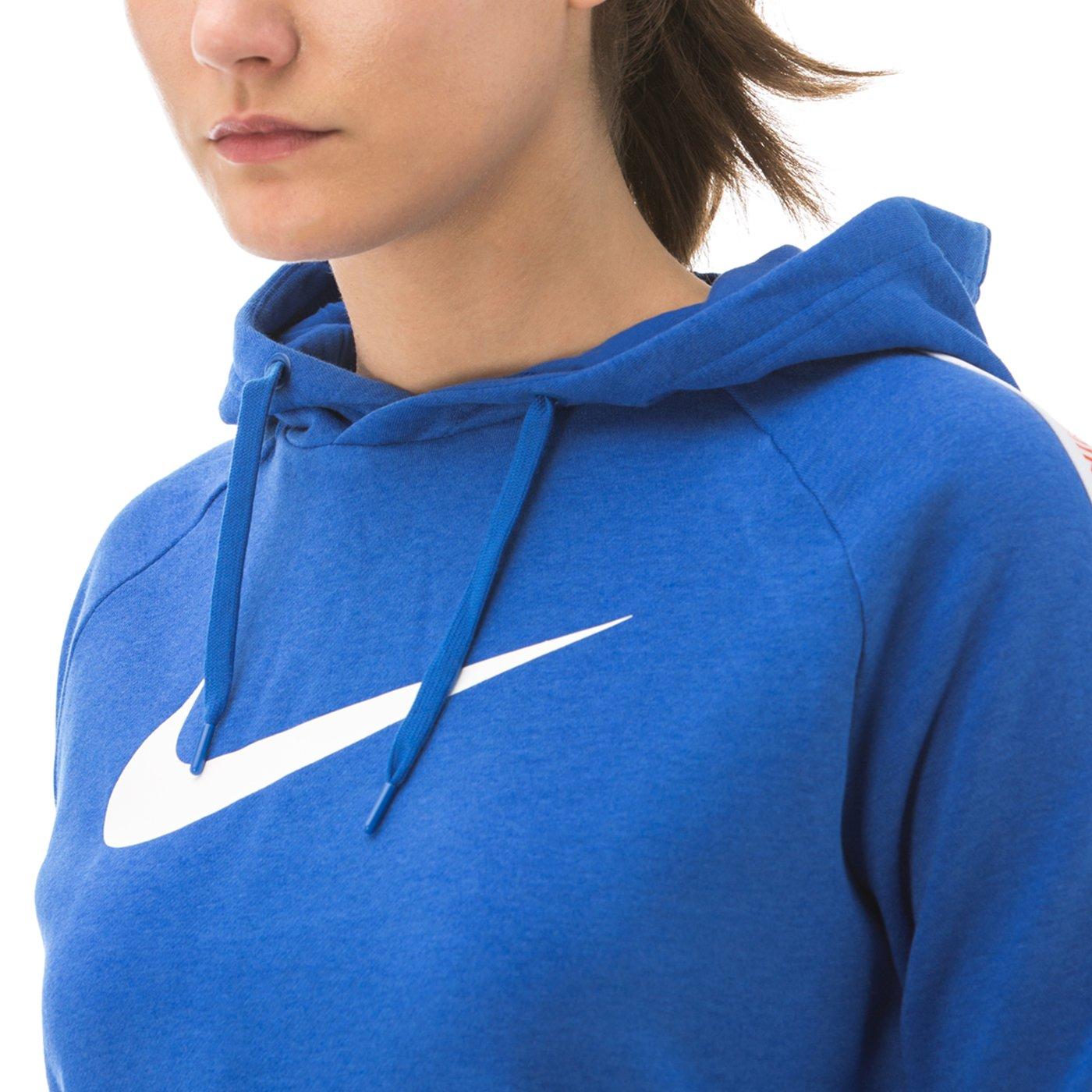 Nike Sportswear Hoodie Kadın Lacivert Sweatshirt
