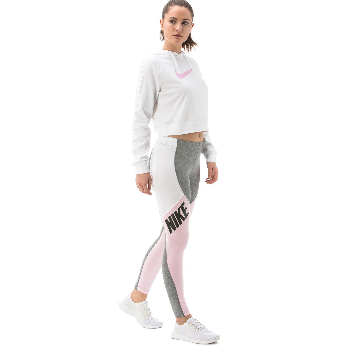 Nike Sportswear Leg-A-See Kadın Gri Tayt