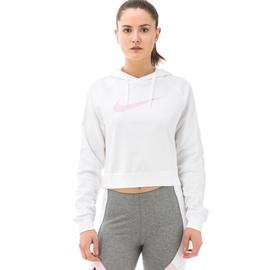 Nike Sportswear Hoodie Kadın Beyaz Sweatshirt