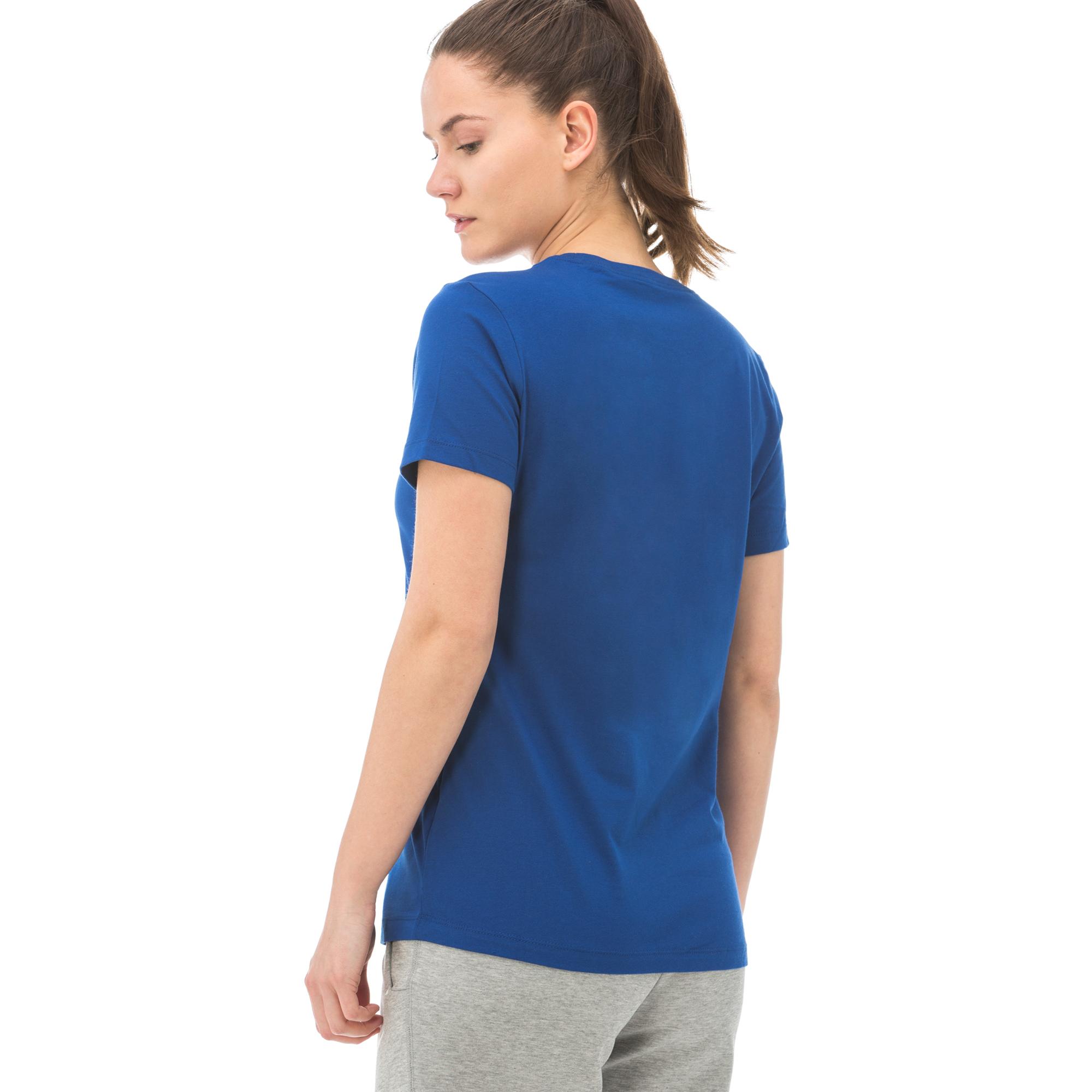 Nike Sportswear Essential Kadın Lacivert T-Shirt