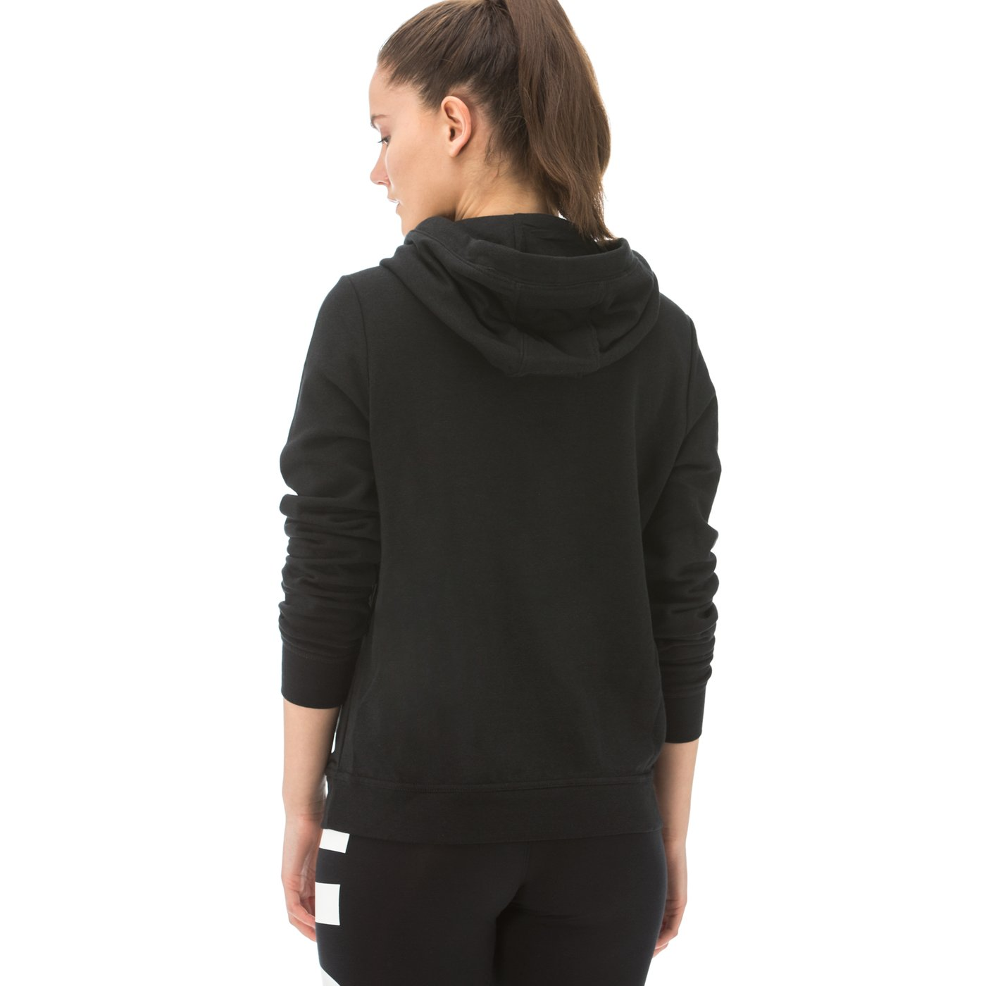 Nike Sportswear Funnel Kadın Siyah Sweatshirt