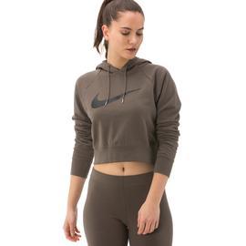 Nike Sportswear Swoosh Kadın Kahverengi Sweatshirt