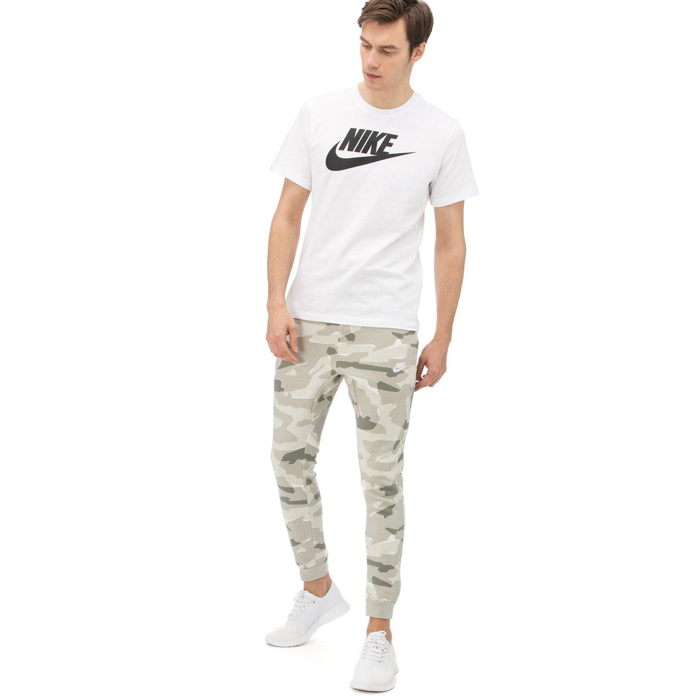 Nike Sportswear Club Camo Erkek Yeşil Eşofman