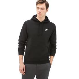 Nike Sportswear Club Hoodie Erkek Siyah Sweatshirt