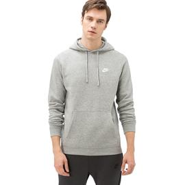 Nike Sportswear Club Hoodie Erkek Gri Sweatshirt