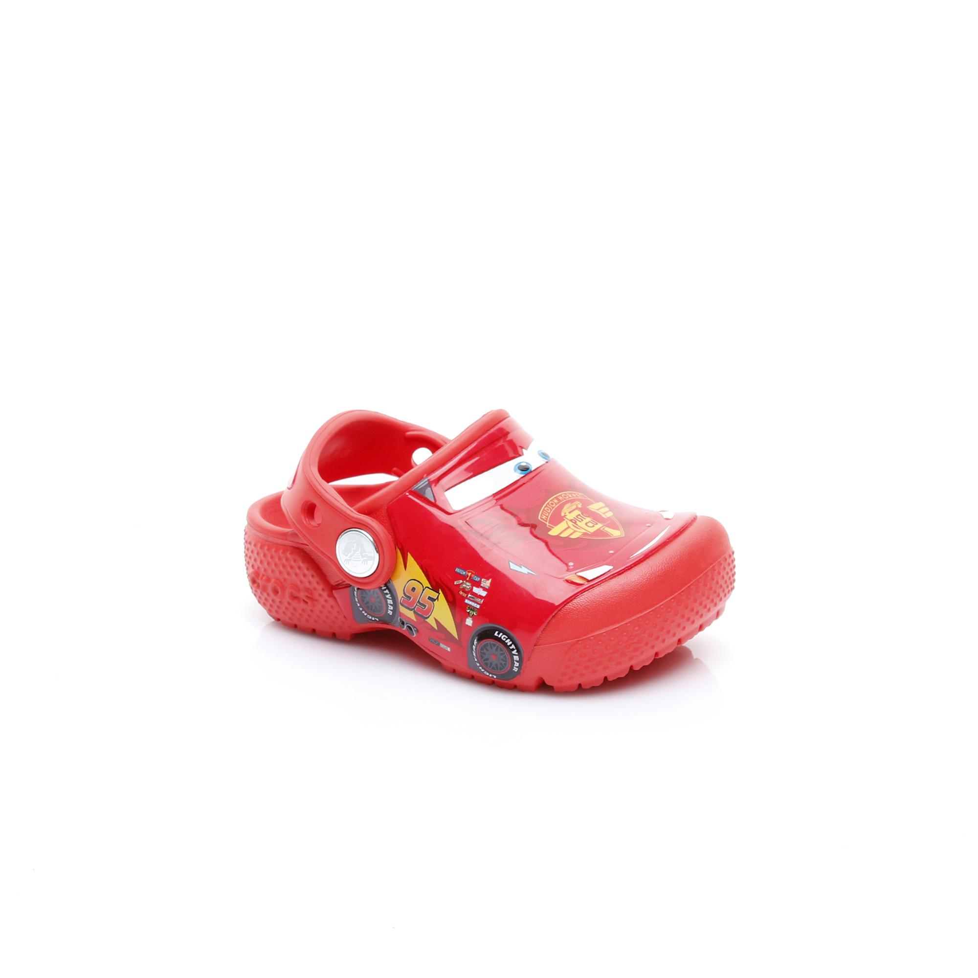 Crocs Crocsfunlab Cars Clog K Çocuk Kırmızı Terlik
