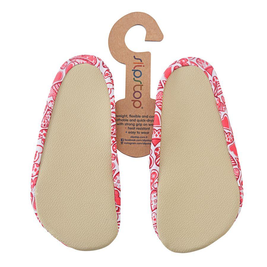 Slipstop Redheart Pembe Çocuk Havuz Ayakkabısı