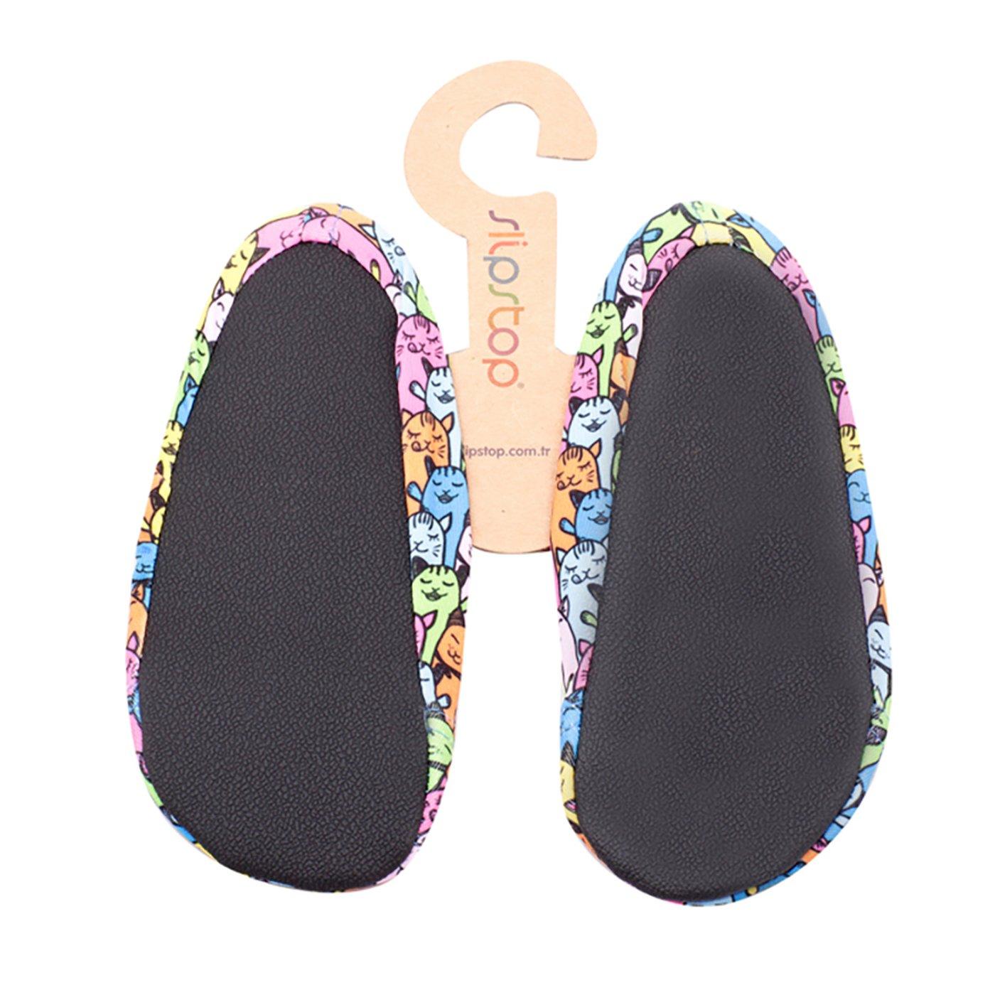 Slipstop Kitty Renkli Çocuk Havuz Ayakkabısı