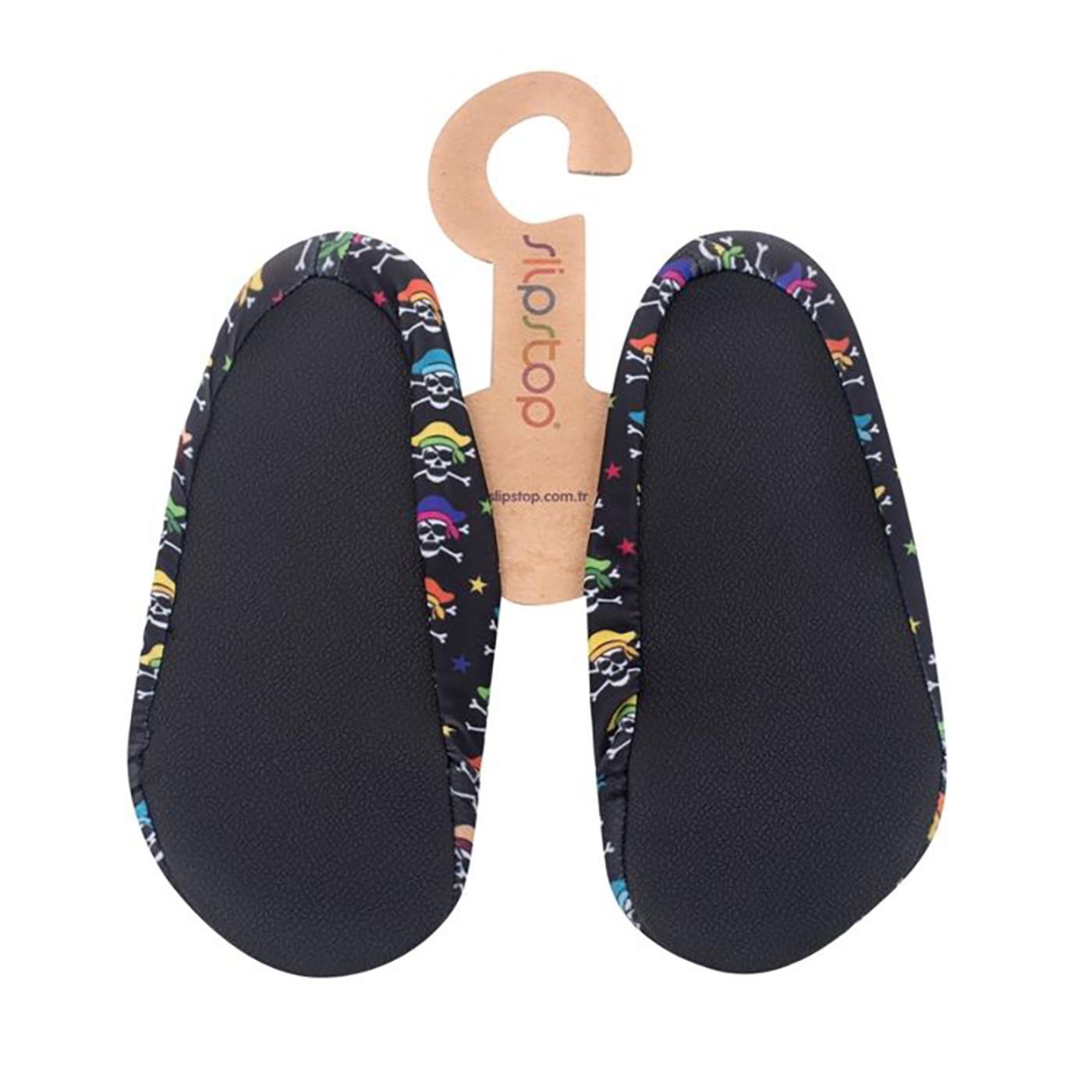 Slipstop Pirates Siyah Çocuk Havuz Ayakkabısı