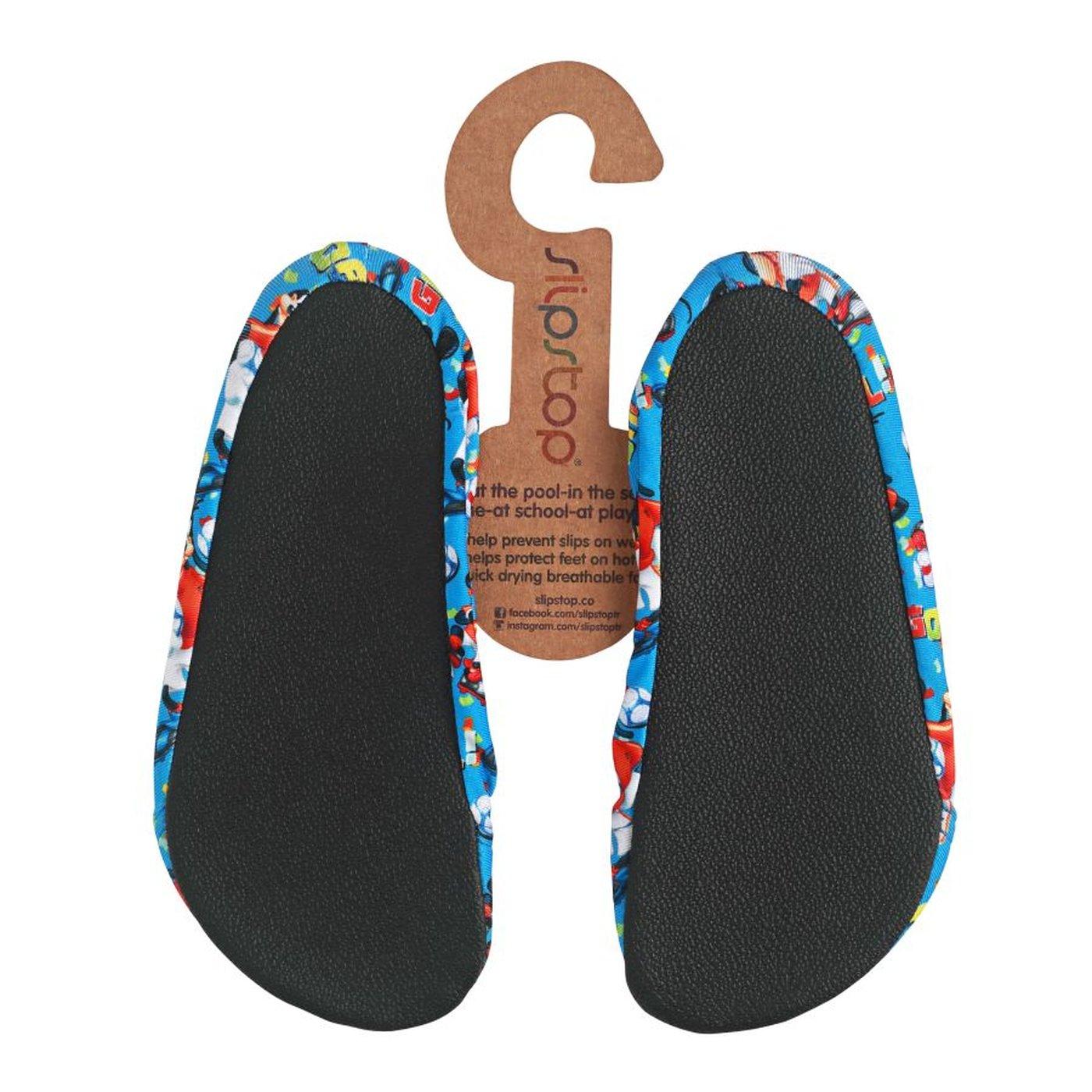 Slipstop Mickey Goal Mavi Çocuk Havuz Ayakkabısı