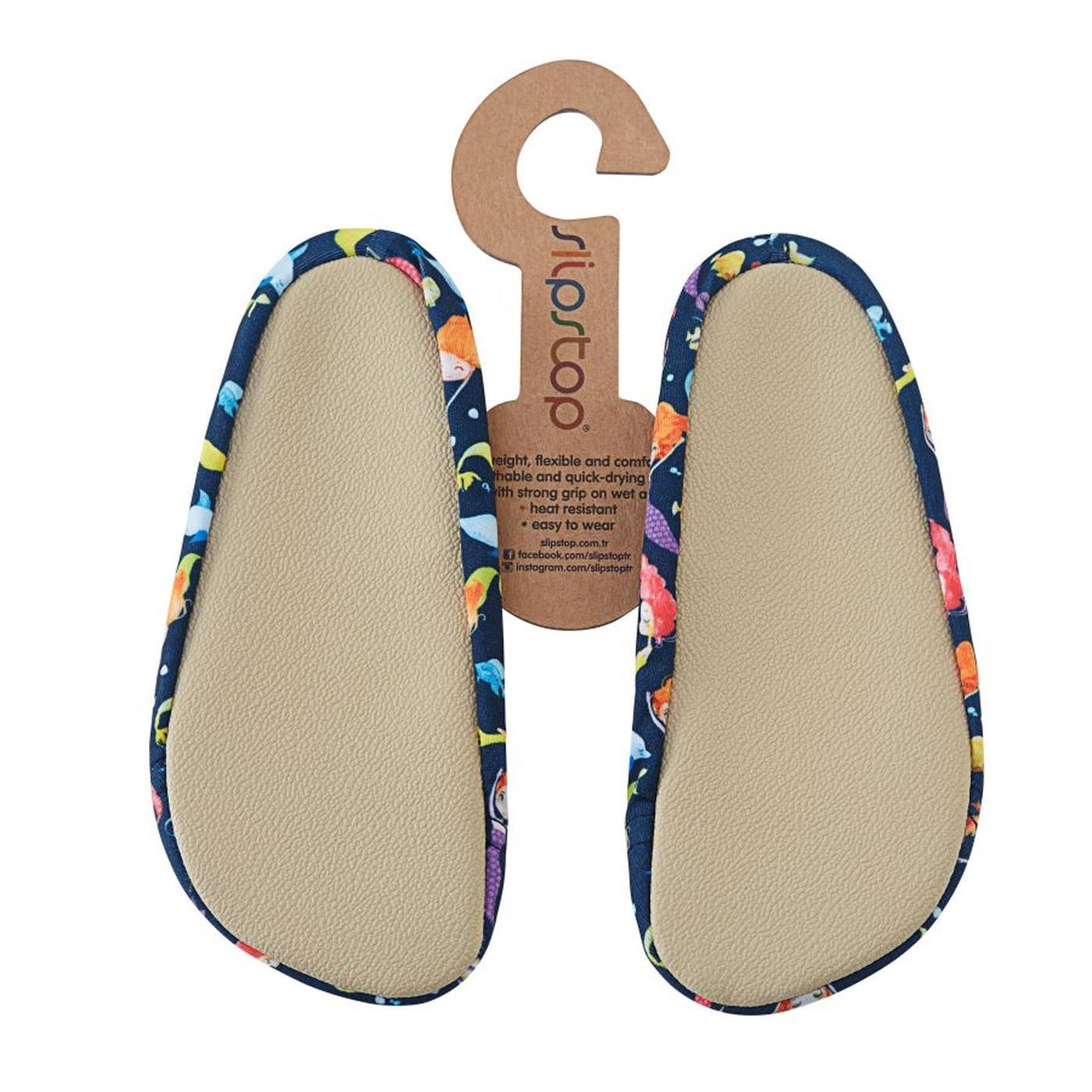 Slipstop Beauty Lacivert Çocuk Havuz Ayakkabısı