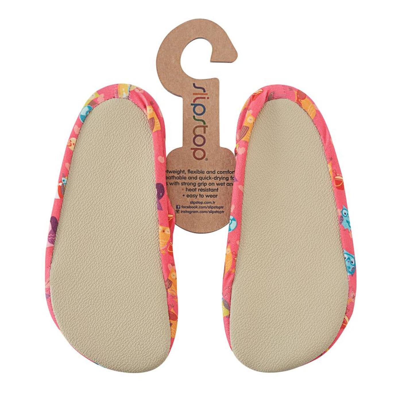 Slipstop Cute Çocuk Pembe Havuz Ayakkabısı