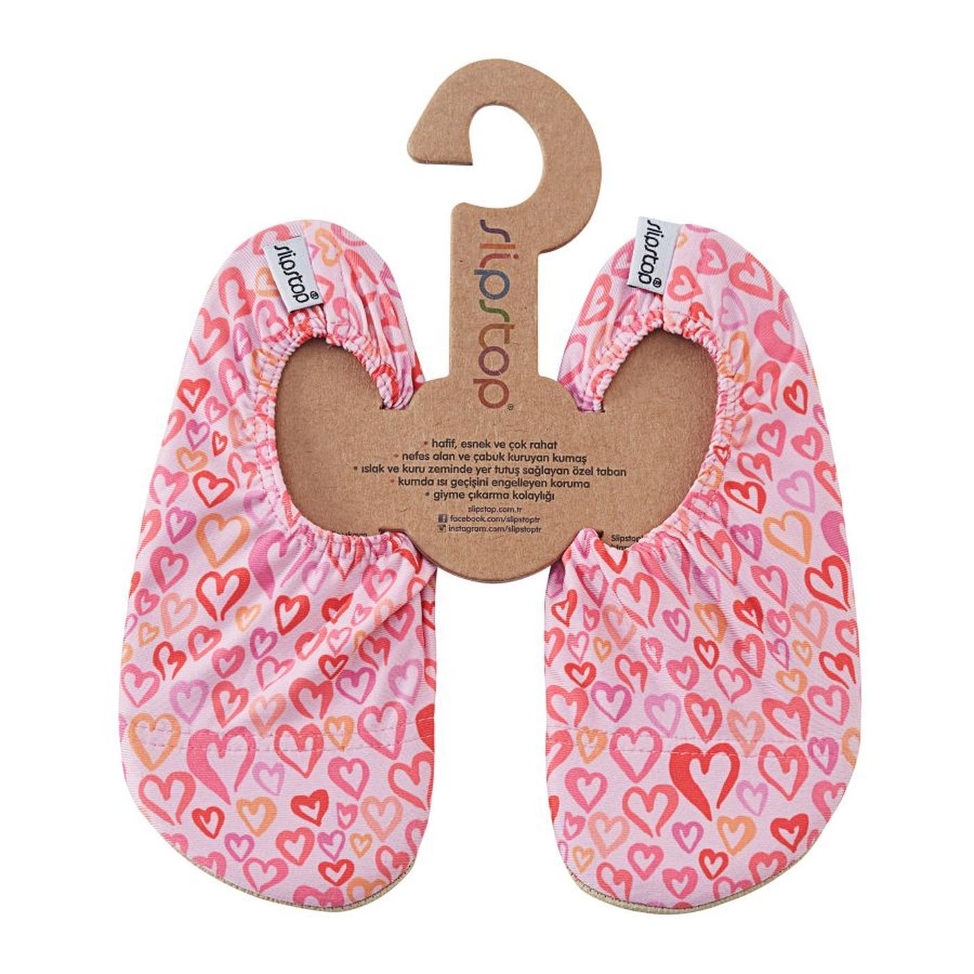 Slipstop Fly Heart Çocuk Pembe Havuz Ayakkabısı