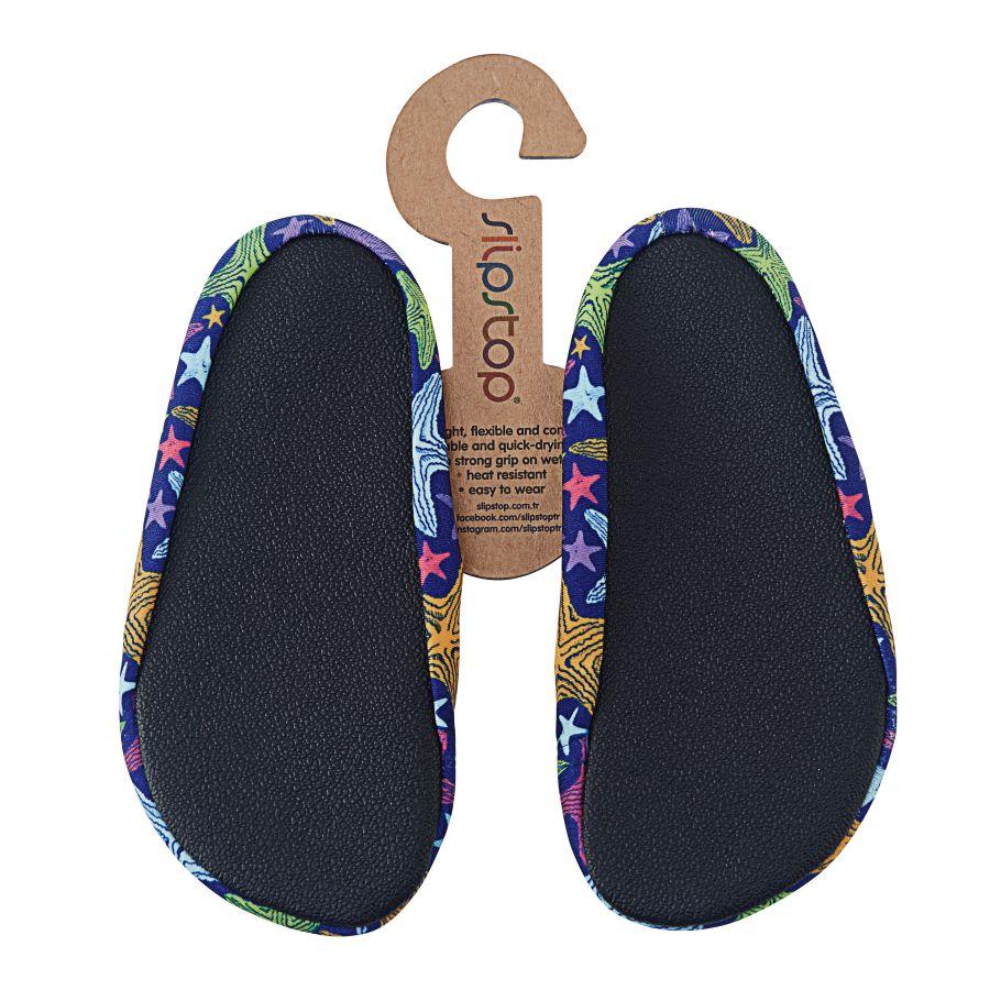 Slipstop Starfish Junior  Çocuk Renkli Havuz Ayakkabısı