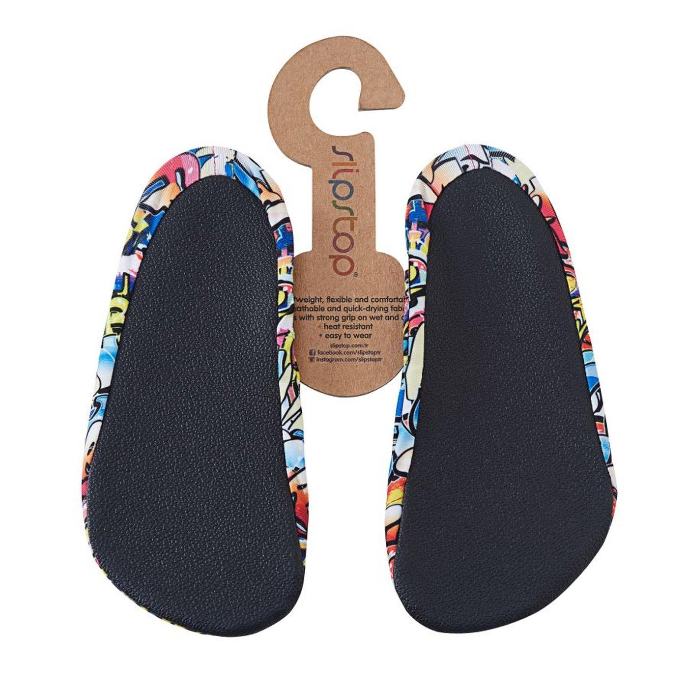 Slipstop Hiphop Junior Renkli Çocuk Havuz Ayakkabısı
