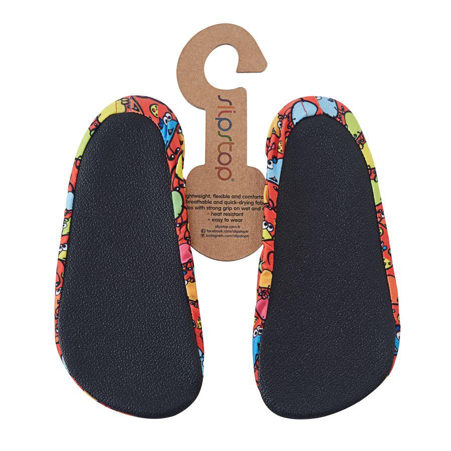 Slipstop Kiki Turuncu Çocuk Havuz Ayakkabısı