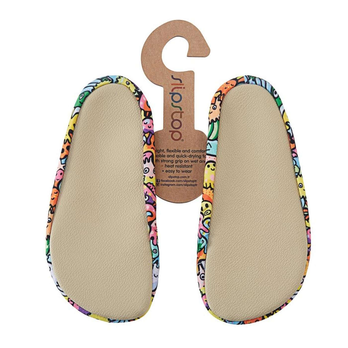 Slime Çocuk Renkli Havuz Ayakkabısı